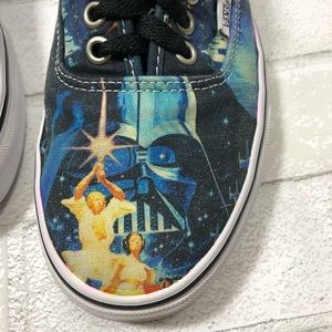 7245145126e849 Vans Shoes - Vans Star Wars Limited Edition Darth Vader Sz 9